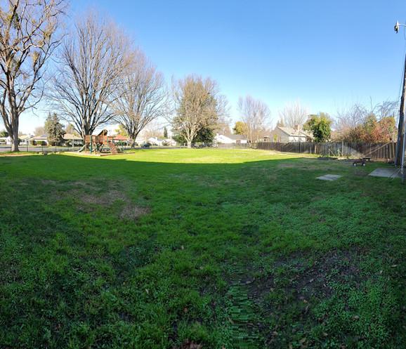 Before: RUMC Yard and Playground