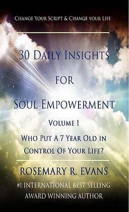 Change Your Script, Change Your Life Vol. 1  -  eBook