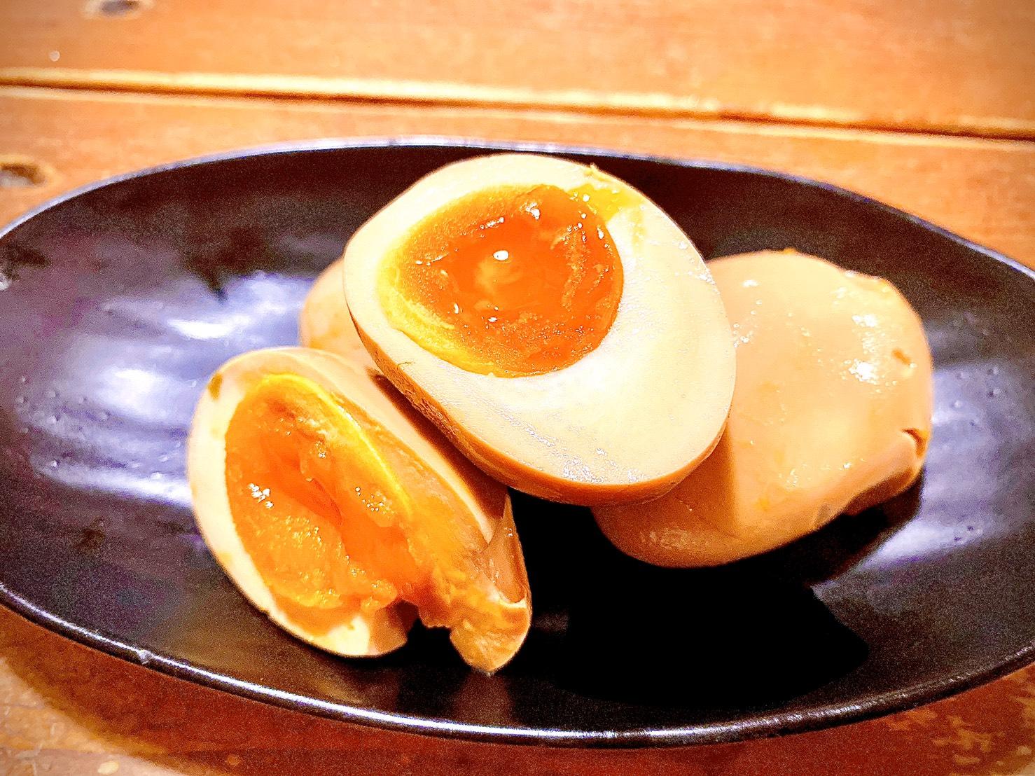 トッピング煮卵