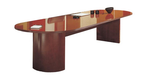Wood Conference Table X - 42 x 96 conference table