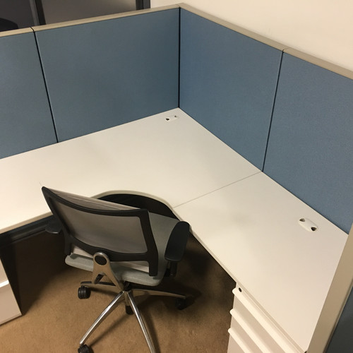Remanufactured Knoll Morrison 6x6 56 High Cubicles
