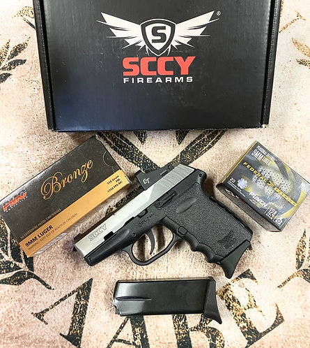 9MM Semi-Auto Pistol w/ Red Dot and Ammo Deal