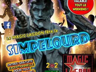 Simpélourd... Le Magic' fête la Simpélourd