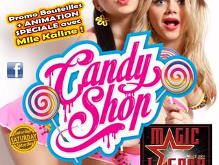 Miam Miam Candy Shop Party...