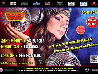 Vendredi 27 Juin - Promo Bouteilles Party du Vendredi