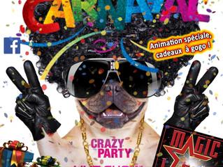 La fête est en avance... Pré-Carnaval