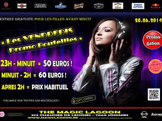 Vendredi 20 Juin - Promo Bouteilles Party