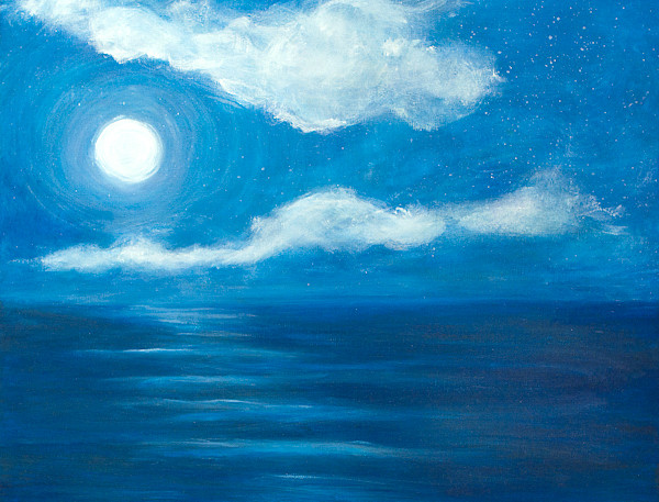"""""""Moonlight on the Water"""""""