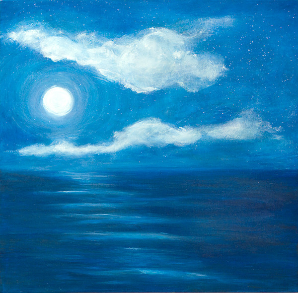"""Moonlight on the Water"""