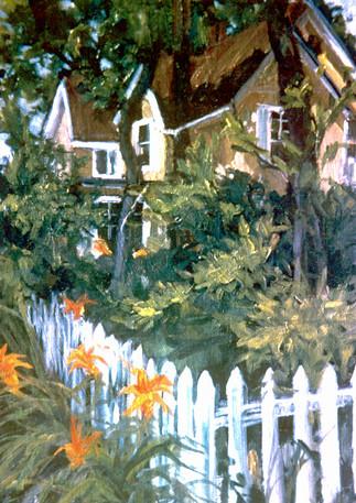 """""""Yellow House"""" Evanston, Illinois"""