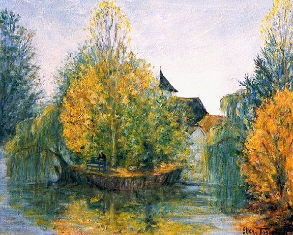 """""""The Loing River""""- Montigny, France"""