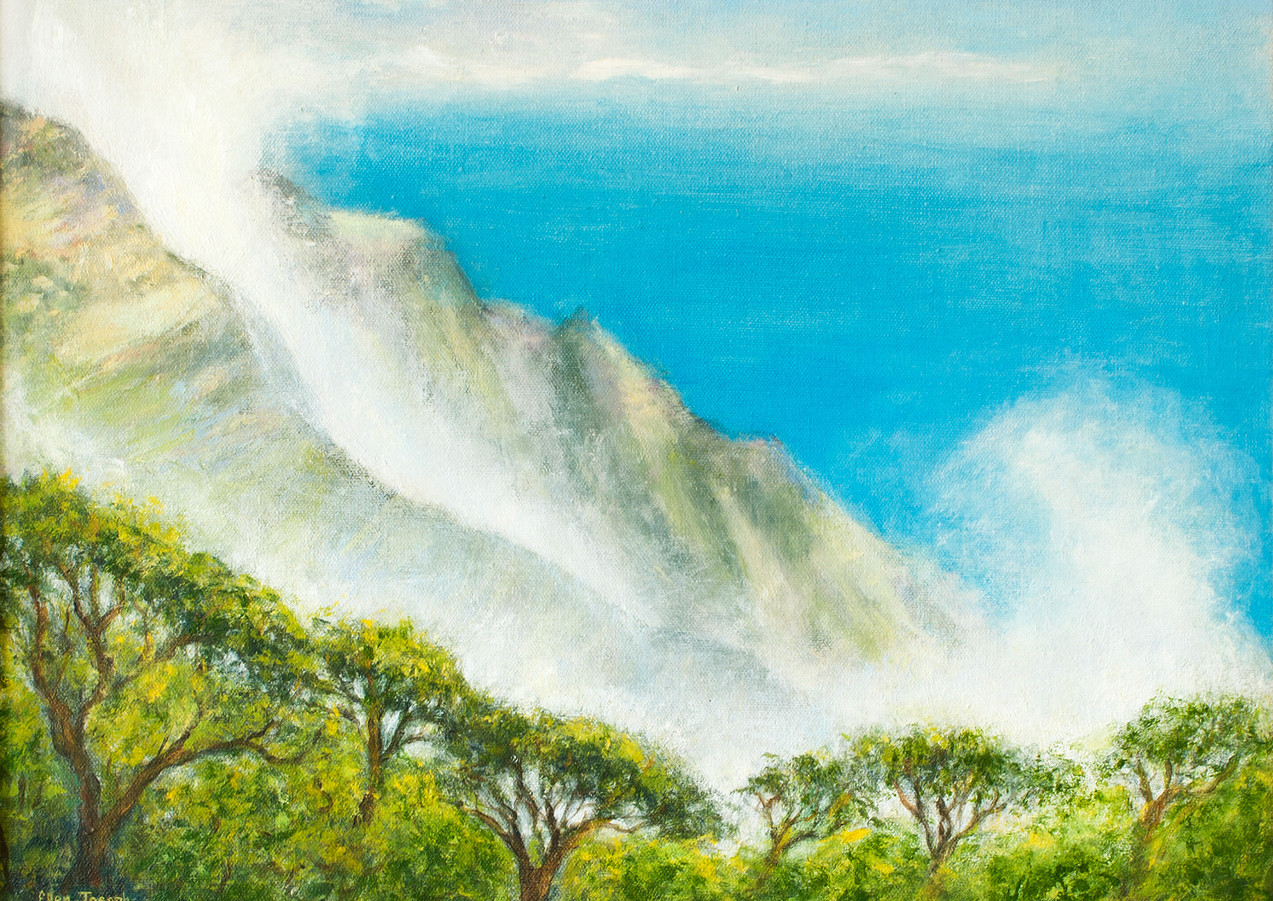 """Napali Mist"" - Kauai, Hawaii"