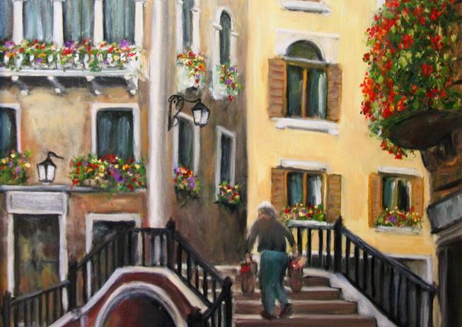 """Venice Steps"" - Venice, Italy"