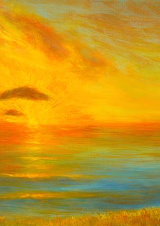 """Pacific Sunset"" - Half Moon Bay"