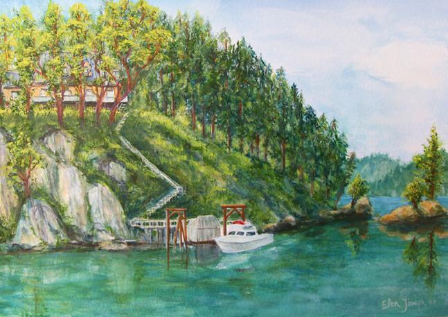 """B.C. Inlet"" - Vancouver Island"