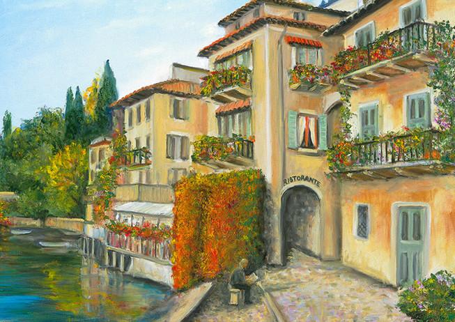 """""""Varenna Shore"""" - Lake Como, Italy"""