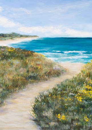 """Venice Beach Walk"" - Half Moon Bay"
