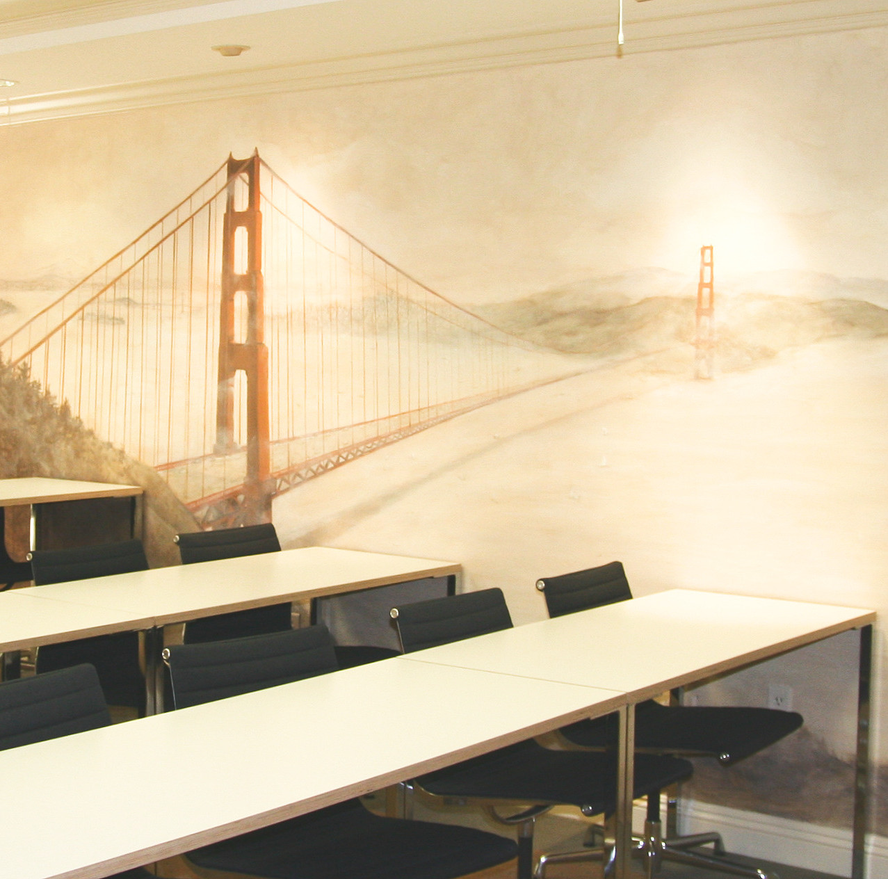 Golden Gate mural 2