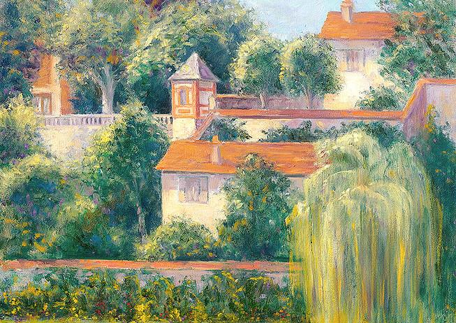 """Garden Walls of Montigny"" - France"