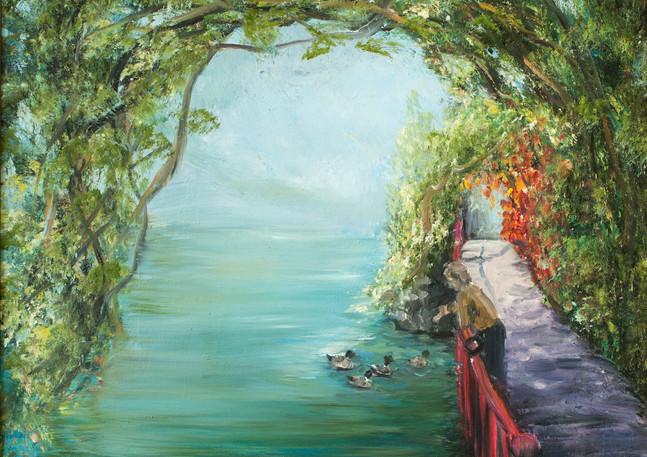 """Varenna Ducks"" - Lake Como, Italy"