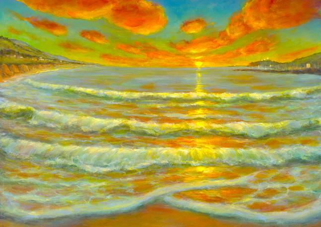 """Half Moon Bay Sunset"" - Half Moon Bay"