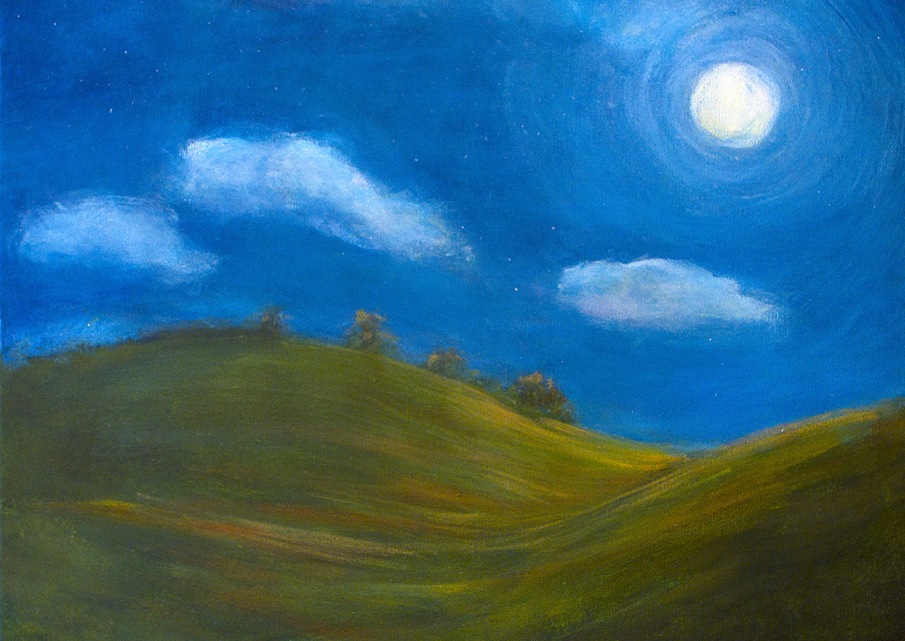 """Moonlight on the Hills"""
