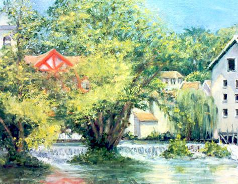 """""""La Vanne Rouge""""- Montigny, France"""