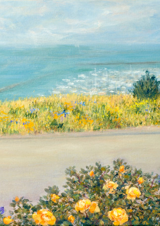 """Pillar Point Garden"" - Half Moon Bay"