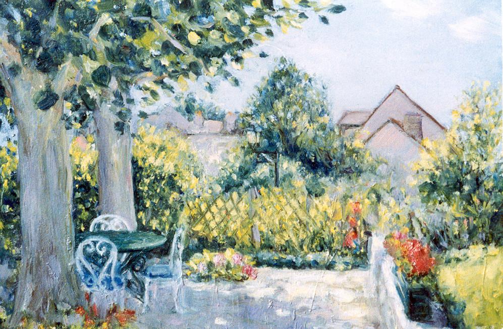 """Summer Terrace""- Montigny, France"