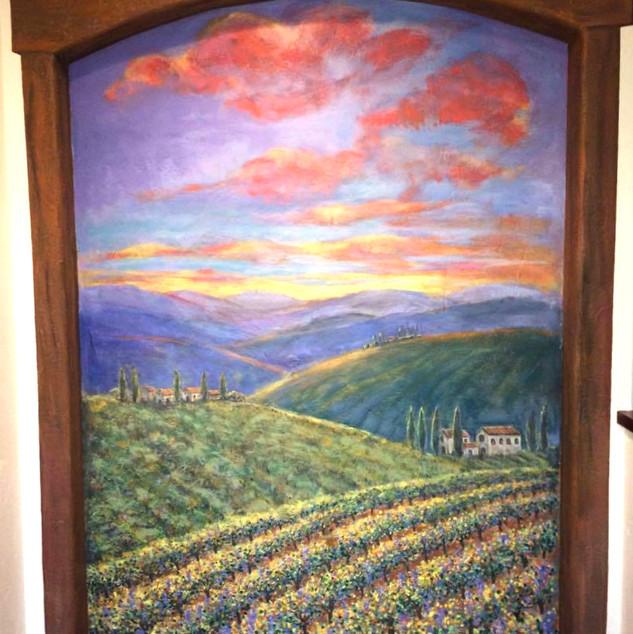 Tuscan Sunset in Montara