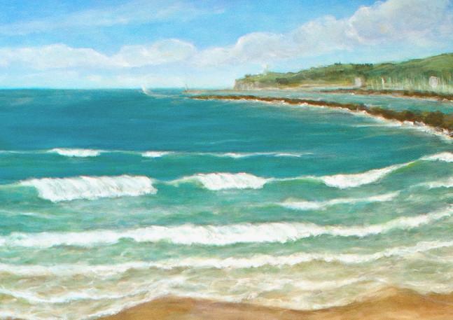 """Surfers Beach"" (right) - Half Moon Bay"