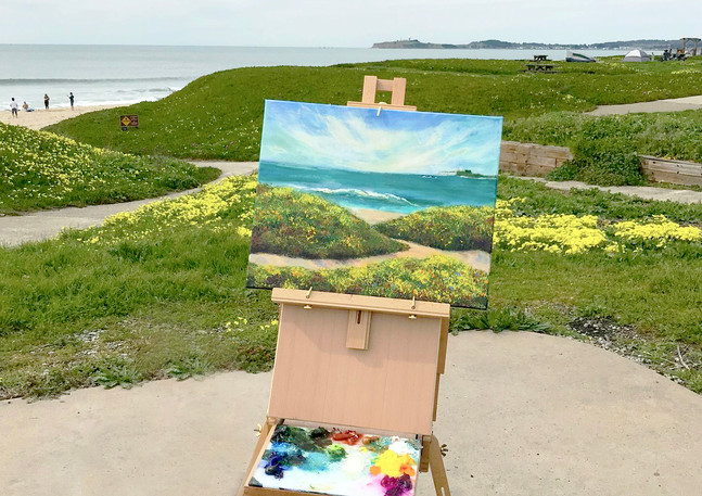 """Francis Beach Wave"" - Half Moon Bay"