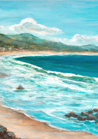 """Surfers Beach Walk"" - Half Moon Bay"