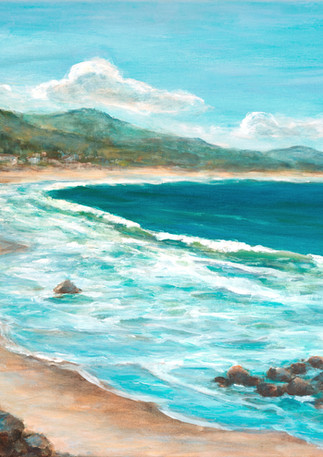 """Surfers Beach Walk"" - Half Moon Bay"