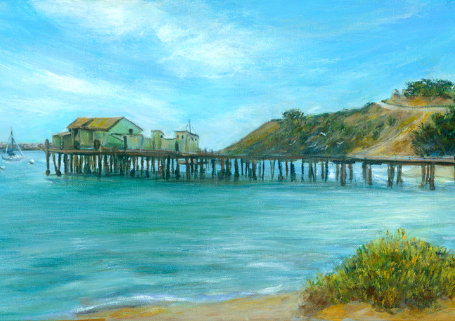 """Romeo Pier - Pillar Point"" - Half Moon Bay"