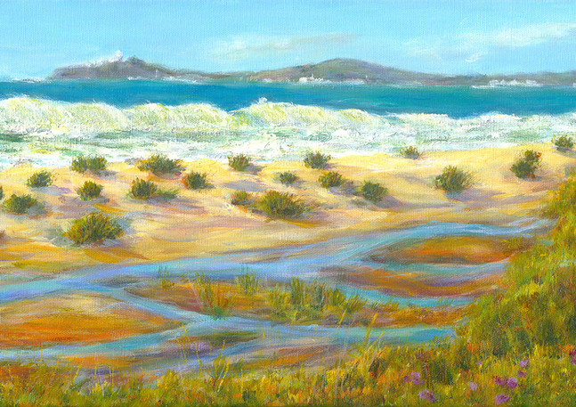 """Elmar Beach"" - Half Moon Bay"