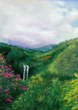 """Opaekaa Falls"" - Kauai, Hawaii"