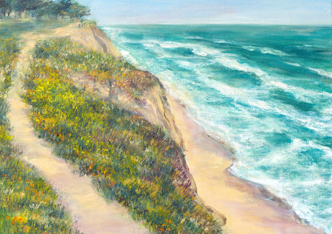 """Poplar Beach Trail"" - Half Moon Bay"