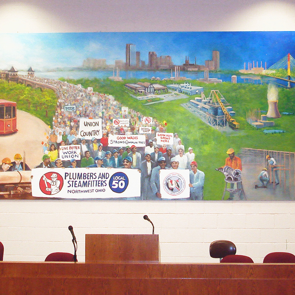 Local 50 Union Hall Mural