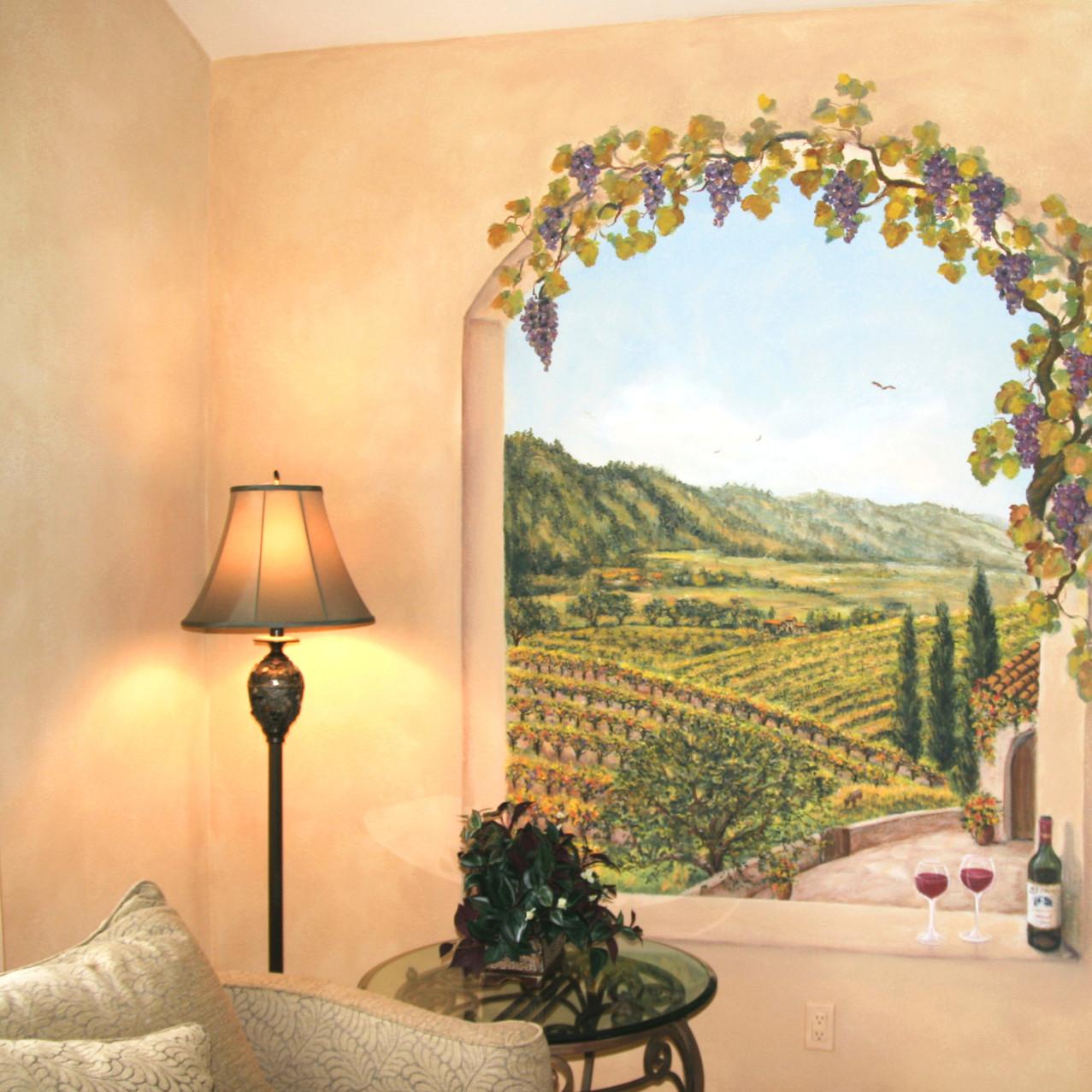 Vineyard Mural