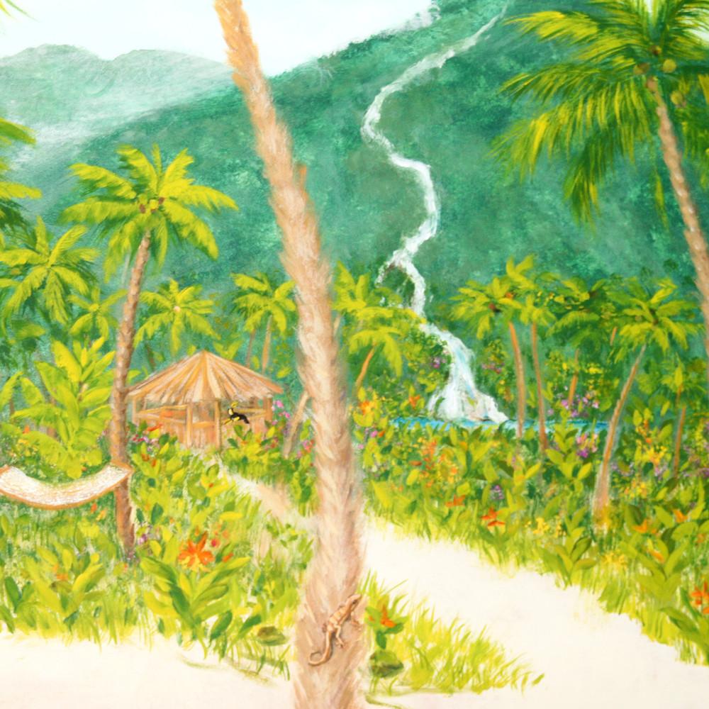 Tropical Bedroom detail