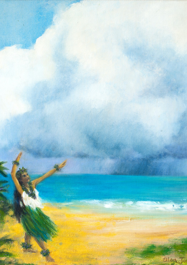 """""""Rain Hula"""" - Waimanalo, Oahu, Hawaii"""