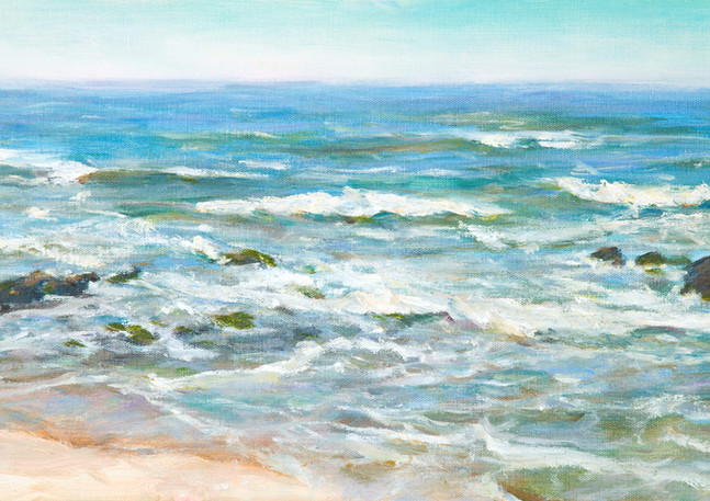 """Captain's Landing Waves"" - Pescadero"