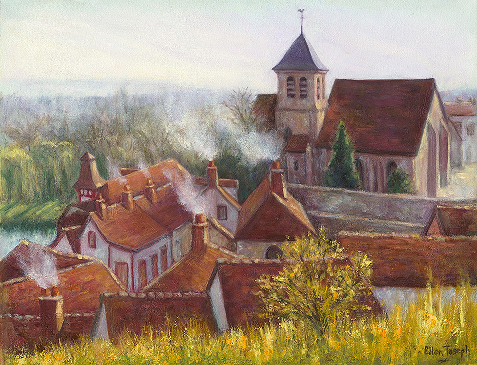 """Montigny sur Loing"" - France"