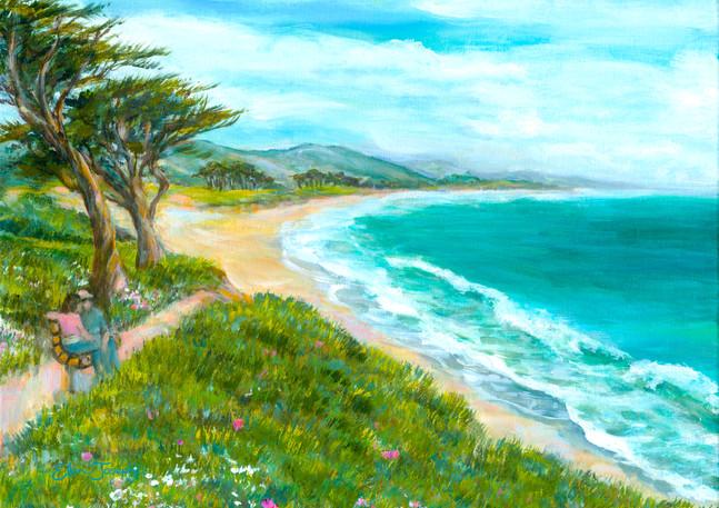 """Miramar Beach Walk"" - Half Moon Bay"