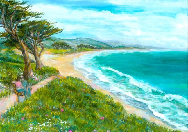 """Miramar Beach Walk"" - Half Moon Bay"