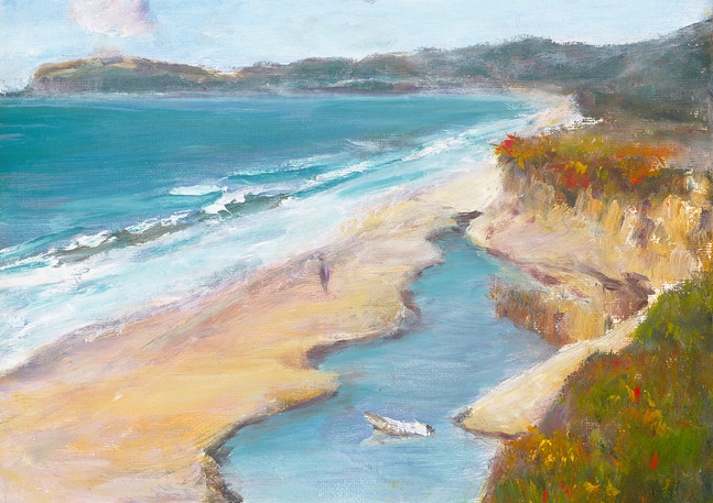 """Venice Beach Bluff"" - Half Moon Bay"