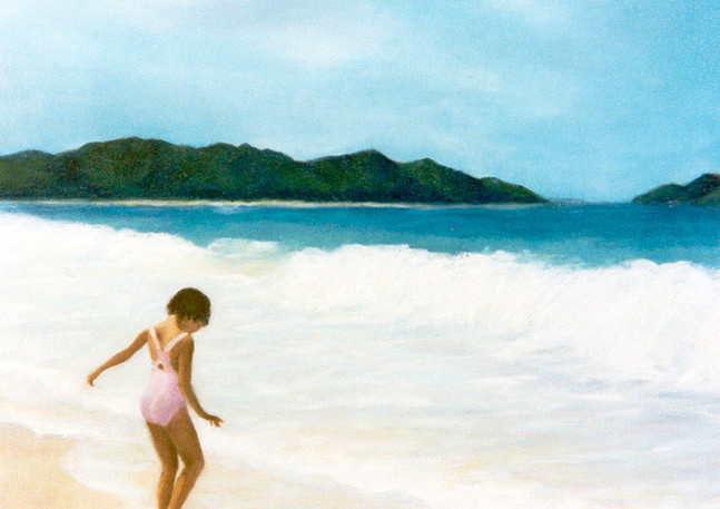 """Testing the Waters"" - Waimanalo, Oahu, Hawaii"