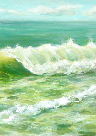 """Churning Wave"" - Dunes Beach - Half Moon Bay"