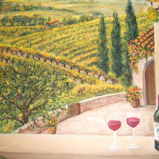 Vineyard Mural detail